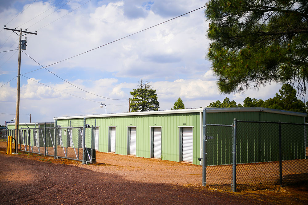 Access to the storage units